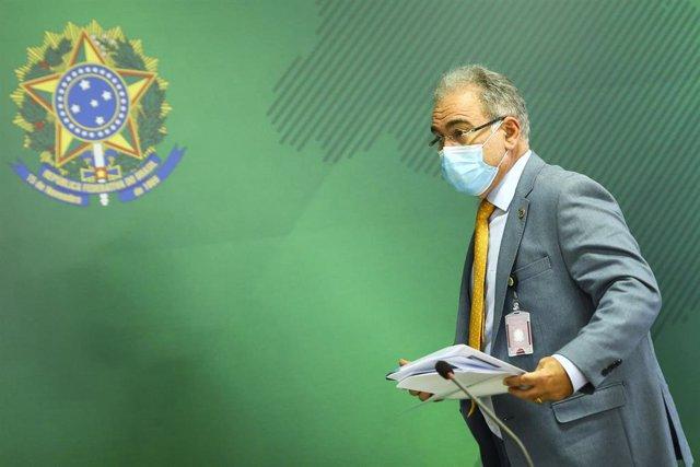 Archivo - El ministro de Salud de Brasil, Marcelo Queiroga.