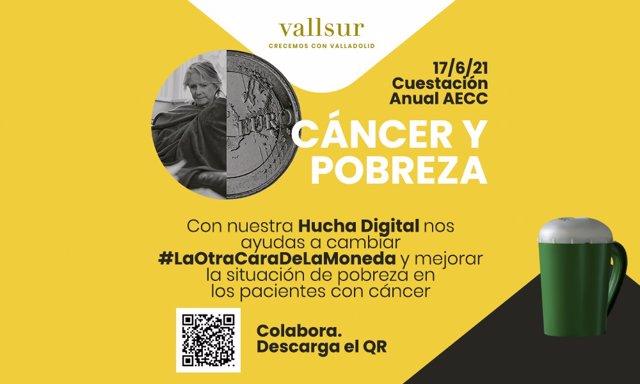 Hucha digital de ayuda a la Asociación Española contra el Cáncer