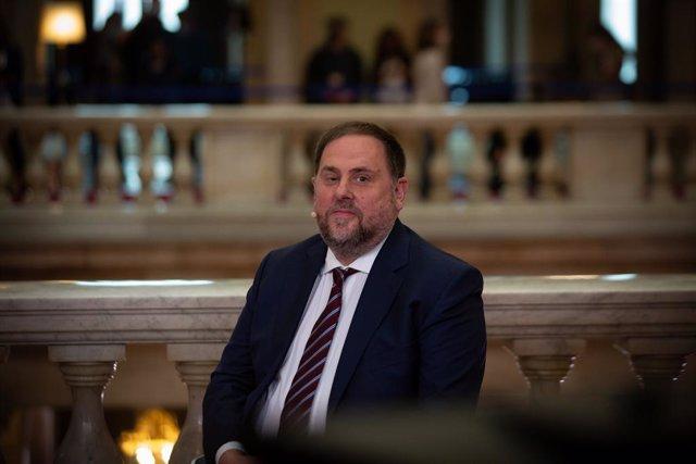 Arxiu - El líder d'ERC, Oriol Junqueras.
