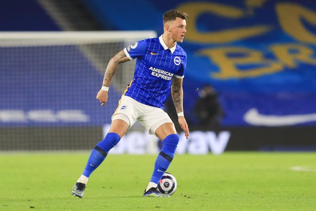 Archivo - Brighton and Hove Albion defender Ben White during the English championship Premier League football match between Brighton and Hove Albion and Crystal Palace on February 22, 2021 at the American Express Community Stadium in Brighton and Hove, En