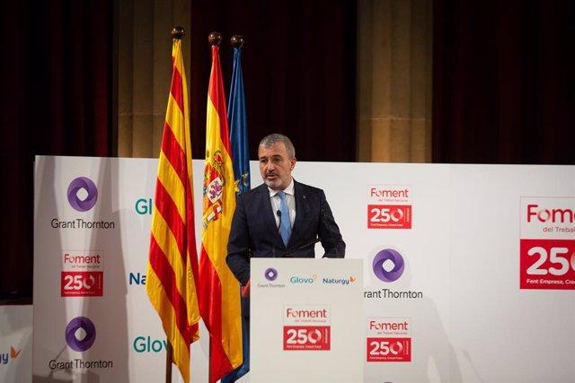 El primer tinent d'alcalde de l'Ajuntament de Barcelona, Jaume Collboni.