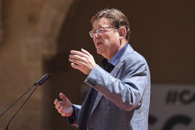 Arxiu - El president de la Generalitat Valenciana, Ximo Puig.