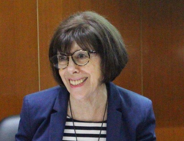 Archivo - Presidenta De La Sociedad Española De Hematología Y Hemoterapia (SEHH), Ana Villegas.