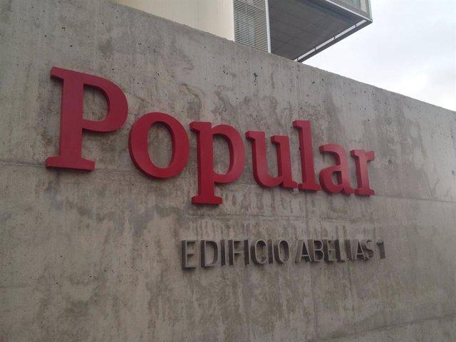 Archivo - Nueva sede Banco Popular