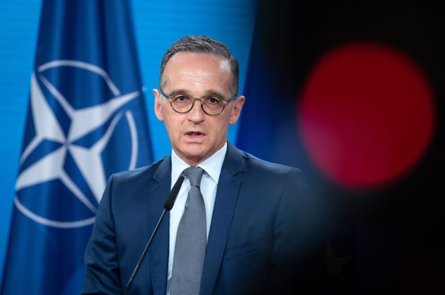 01 June 2021, Berlin: German Foreign Minister Heiko Maas speaks ahead of the NATOforeign ministers' meeting, which to be held via videoconference. Photo: Bernd von Jutrczenka/dpa Pool/dpa