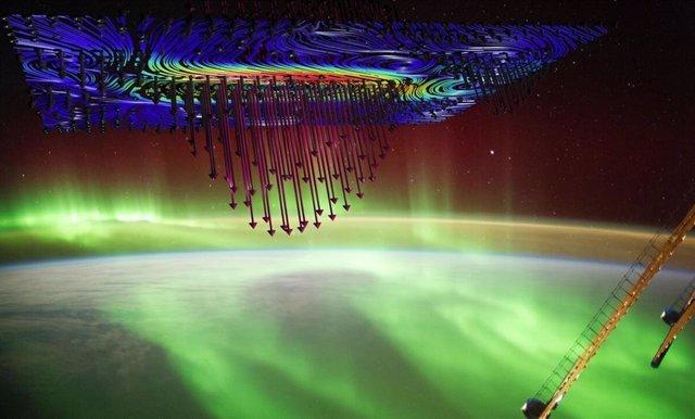 Los físicos dirigidos por la Universidad de Iowa informan evidencia definitiva de que las auroras que iluminan el cielo en las latitudes altas son causadas por electrones acelerados por una poderosa fuerza electromagnética llamada ondas Alfven.