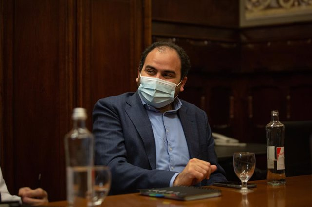 Archivo - Arxiu - El president de Societat Civil Catalana, Fernando Sánchez Costa.