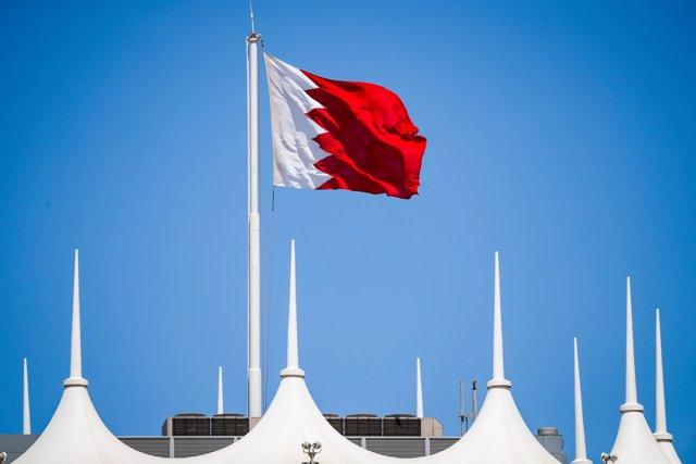 Archivo - Bahrain flag during the Formula 1 Pre-season testing 2021 from March 12 to 14, 2021 on the Bahrain International Circuit, in Sakhir, Bahrain - Photo Florent Gooden / DPPI
