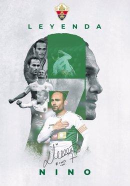 Nino se retira del fútbol profesional a los 40 años tras una carrera llena de éxitos.