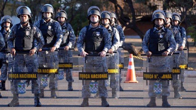 Archivo - Fuerza Nacional de Seguridad Pública de Brasil