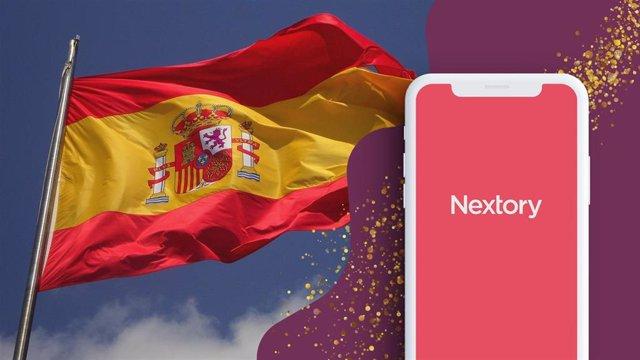 Imagen con la que la compañía Nextory anuncia su llegada a España tras adquirir Nubico, propiedad de Telefónica y Planeta.