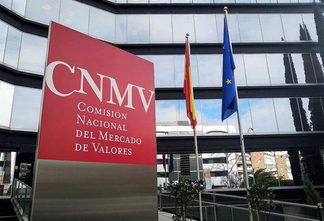 Archivo - Sede de la Comisión Nacional del Mercado de Valores (CNMV)