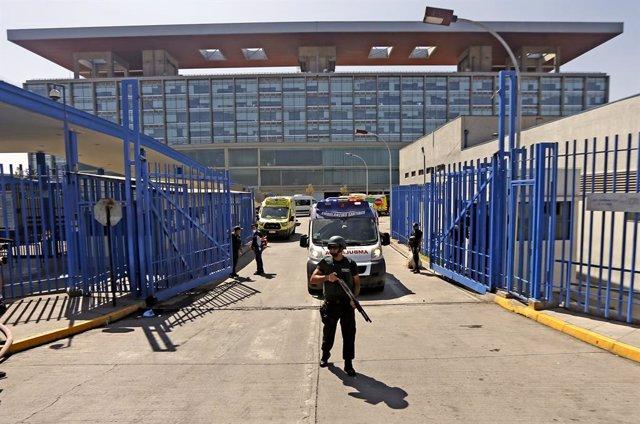 Archivo - Imagen de archivo de una cárcel chilena.