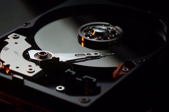 Imagen de un disco duro.