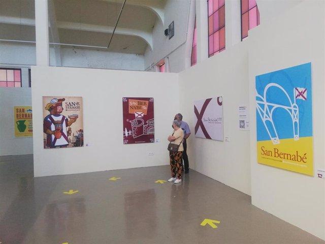 La Plaza de Abastos de Logroño presenta una muestra con la evolución de los carteles de San Bernabé entre los años 2000 a 2019.
