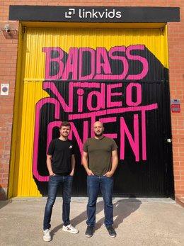 Martin Pons y Josep Suriñach, fundadores de Linkvids