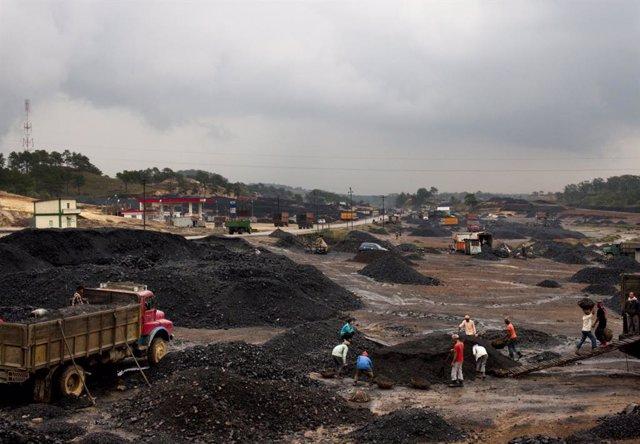 MIna de carbón en Jowai (India)