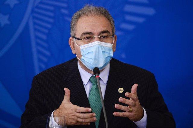 Archivo - El ministro de Salud de Brasil, Marcelo Queiroga