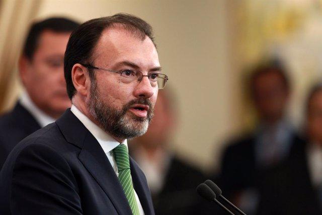 Archivo - El exministro de Exteriores mexicano Luis Videgaray.