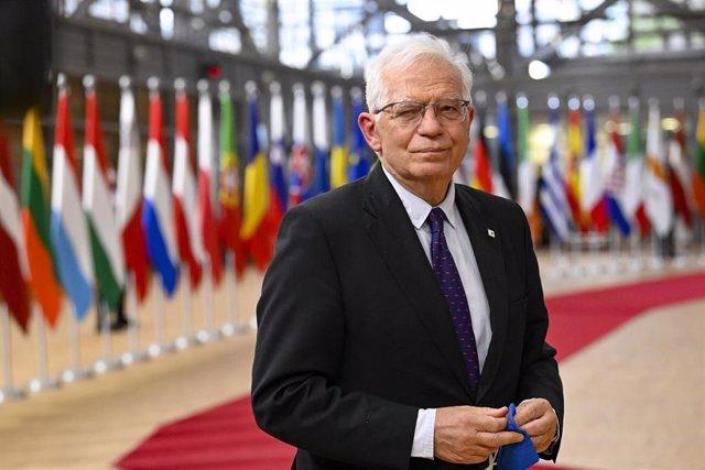 El Alto Representante de la UE para Política Exterior y Seguridad Común, Josep Borrell.