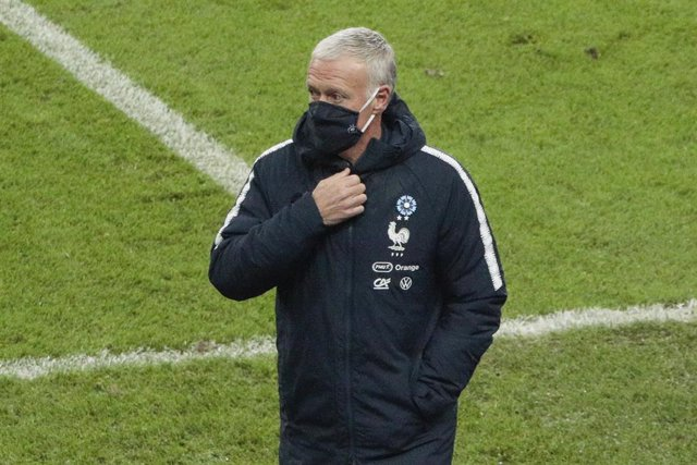 Archivo - Didier Deschamps (FRA) reacted at the end of the game during the International Friendly Game football match between France and Finland on November 11, 2020 at Stade de France in Saint-Denis, France - Photo Stephane Allaman / DPPI