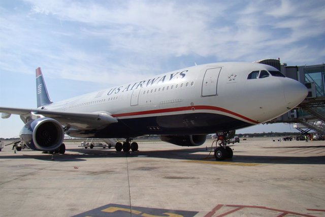 Archivo - Avión US Airways