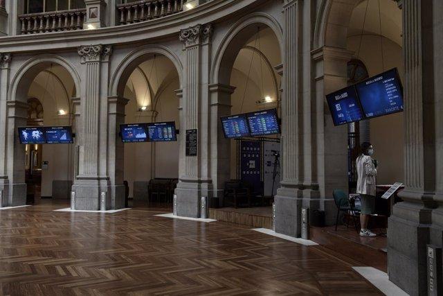 Valores económicos en el Palacio de la Bolsa