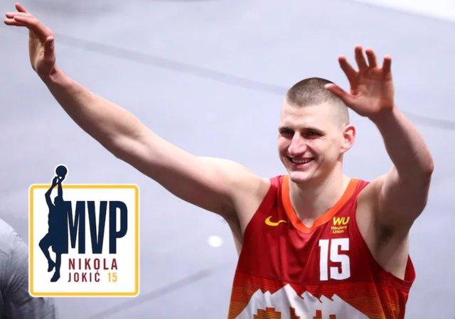 Nikola Jokic, MVP de la NBA