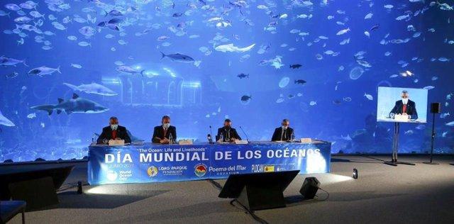 Día Mundial de los Océanos en el acuario Poema del Mar.