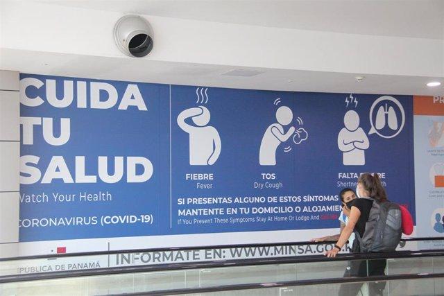 Archivo - Aeropuerto Internacional de Tocumen, en Panamá