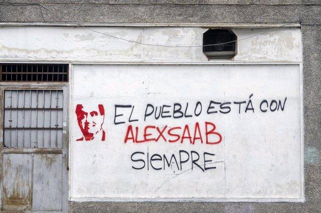 Muran de Caracas en defensa de Alex Saab.