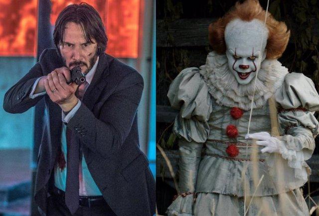 ¿Keanu Reeves Vs Pennywise? Bill Skarsgard Ficha Por John Wick 4