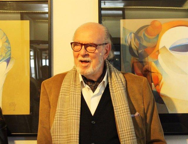 El pintor Jordi Alumà.