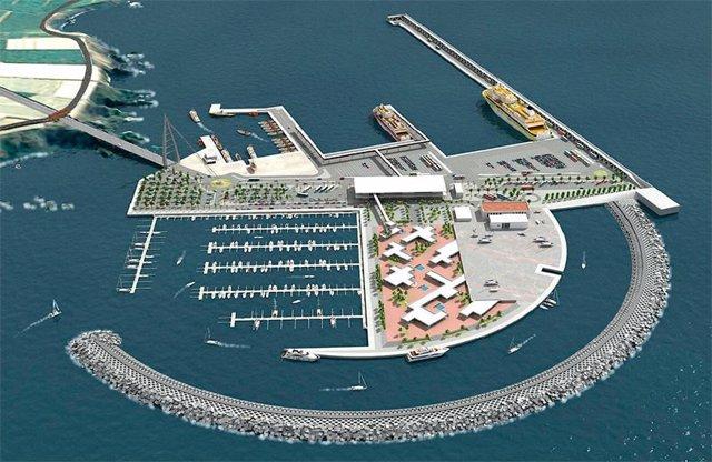 Archivo - Proyecto del puerto de Fonsalía