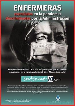 Los enfermeros piden a Darias que no se les discrime en el seno de la Administración y pasen al nivel A1