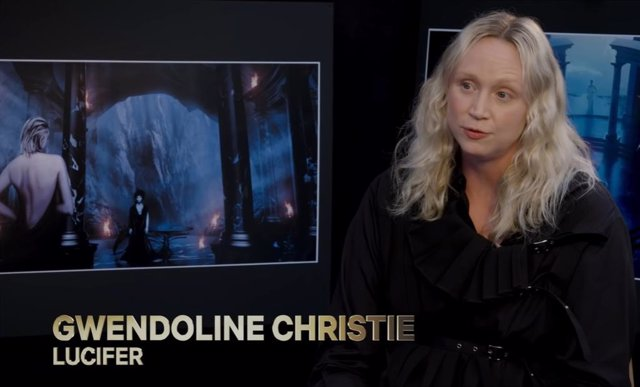 Sandman: Gwendoline Christie presenta el espectacular primer avance de la serie de Netflix