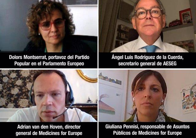 La AESEG se reúne con la eurodiputada Dolors Montserrat para abordar la estrategia farmacéutica de la UE