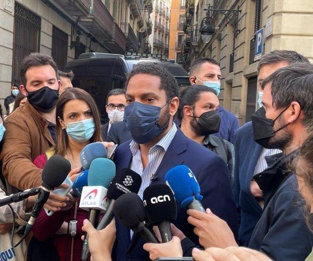 El líder de Vox en Cataluña, Ignacio Garriga