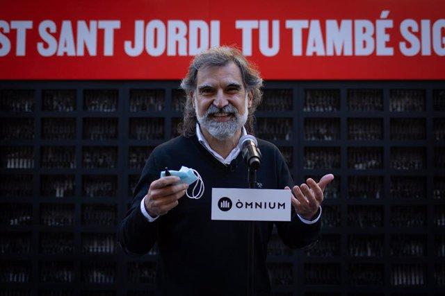 Archivo - Arxiu - El president d'Òmnium, Jordi Cuixart.
