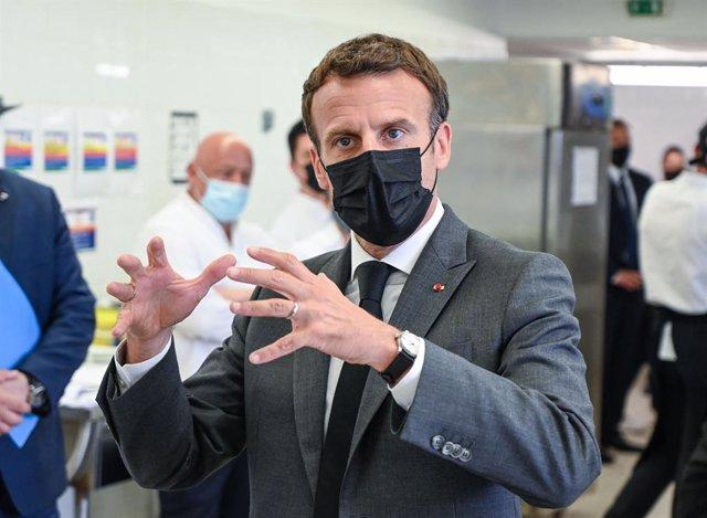 El presidente de Francia/Emmanuel Macron