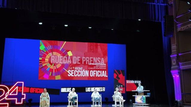 'Las mejores familias' retrata la división social de Perú en el Festival de Cine de Málaga