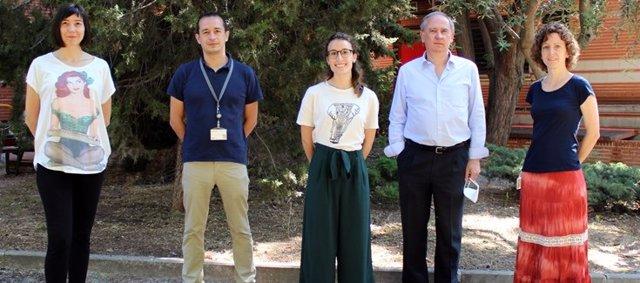 Algunos de los investigadores del CIBERONC participantes en el estudio