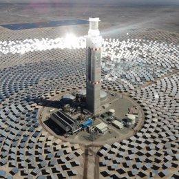 Planta termosolar de Cerro Dominador (Chile) construida por Abengoa y Acciona
