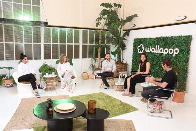 Mesa de  'Empresas, actor clave del consumo responsable', en la jornada 'La Red del Cambio' de Wallapop