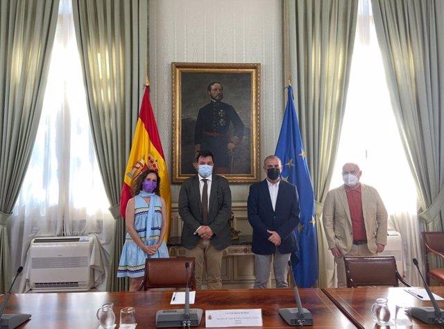 Encuentro entre la Plataforma del Tercer Sector y el secretario de Estado de Política Territorial.