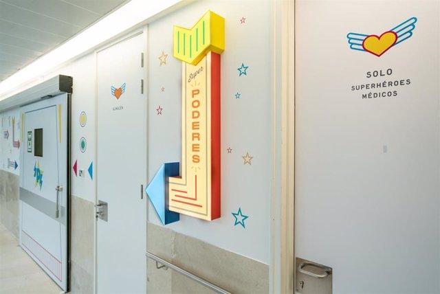 Archivo - Philips colabora en la remodelación de la sala de hemodinámica infantil del Hospital Gregorio Marañón.