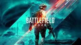 Cartel del videojuego Battlefield 2042.