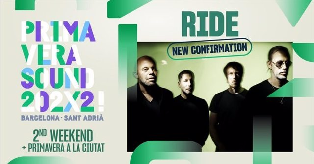 El Primavera Sound 2022 incorpora Ride.
