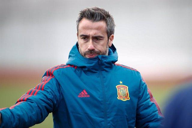 Archivo - Jorge Vilda, seleccionador español de fútbol femenino