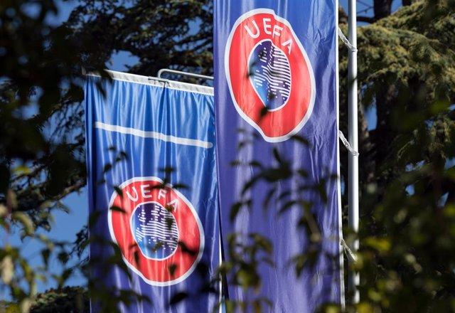 Archivo - Sede de la UEFA en Nyon